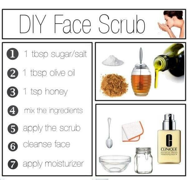 Homemade Face Scrub Diy Face Scrub Face Scrub Diy Face