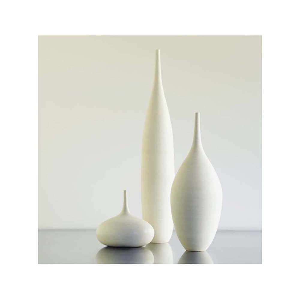 kostenloser versand auf bestellung 3 gro e wei e keramik flasche vasen in sauber klassische
