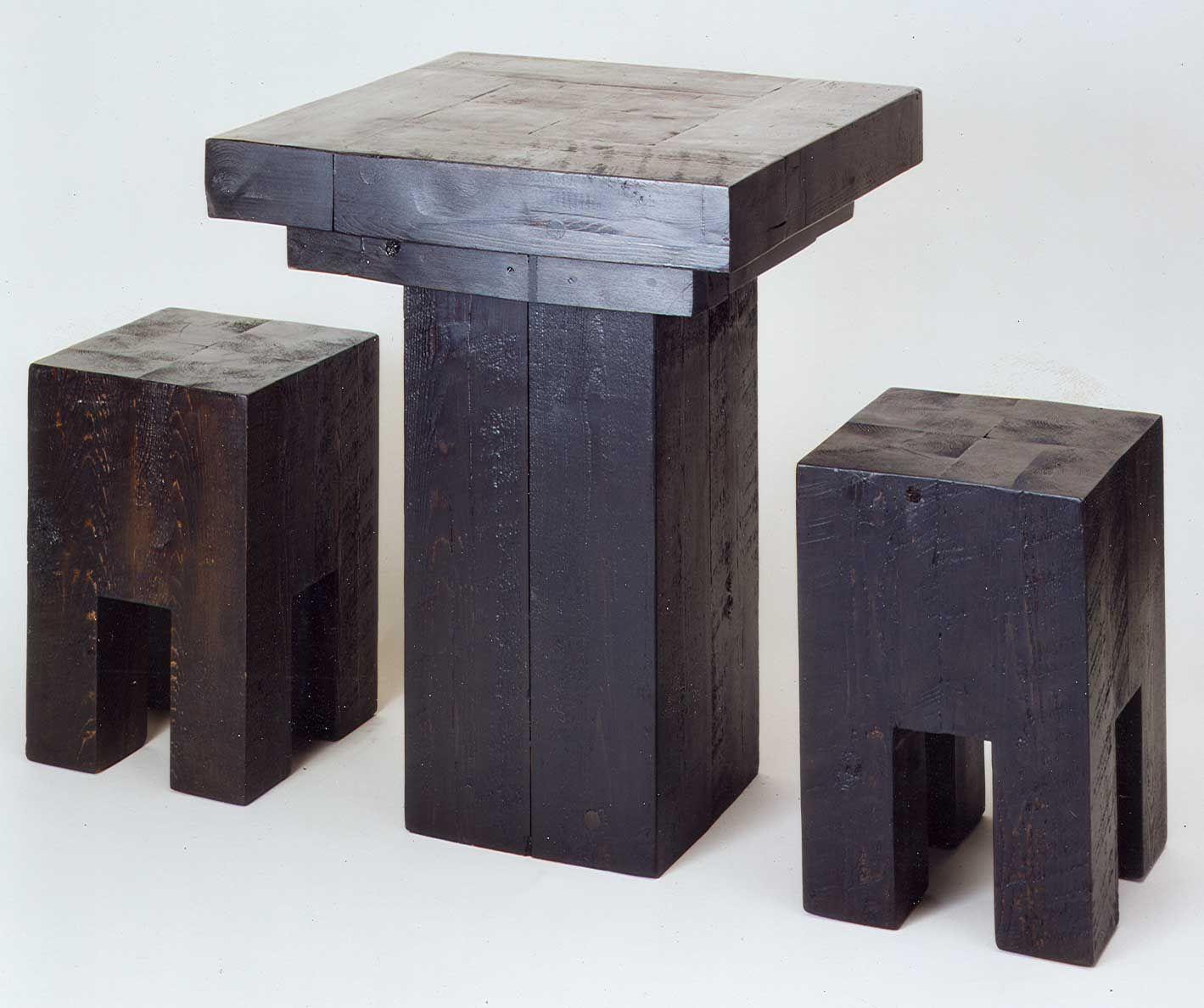 Antique Beam Chairs