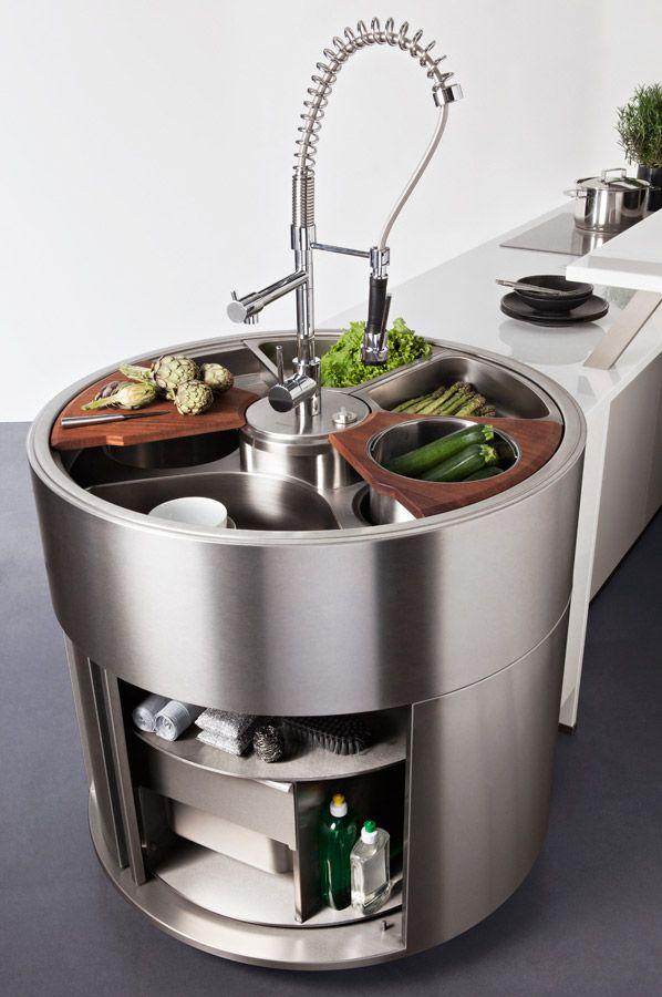 Darty cuisine nos cuisines ouverte sur salon for Cuisine ouverte ronde