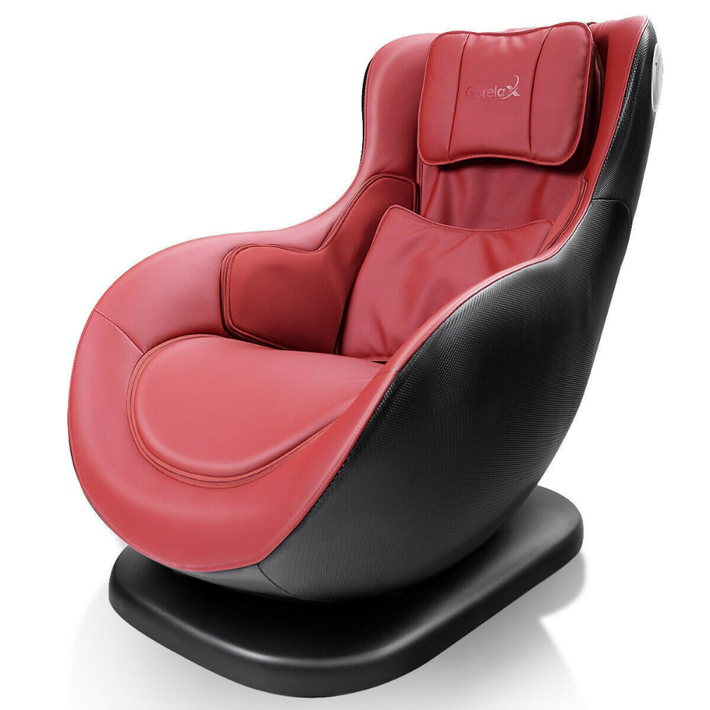 Red and Black 3D Surround Sound Leisure Curved Heated