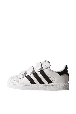 save off b5a43 4306a adidas Originals Sneakers Superstar Foundation CF1 av skinn Svart vit, Vit  svart - Flicka - Sneakers   Ellos Mobile