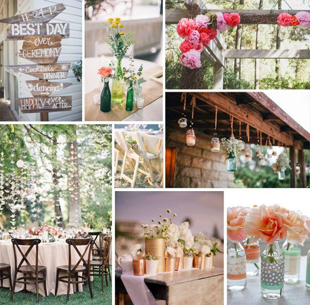 decoración de bodas sencillas - Buscar con Google boda y fiesta - bodas sencillas