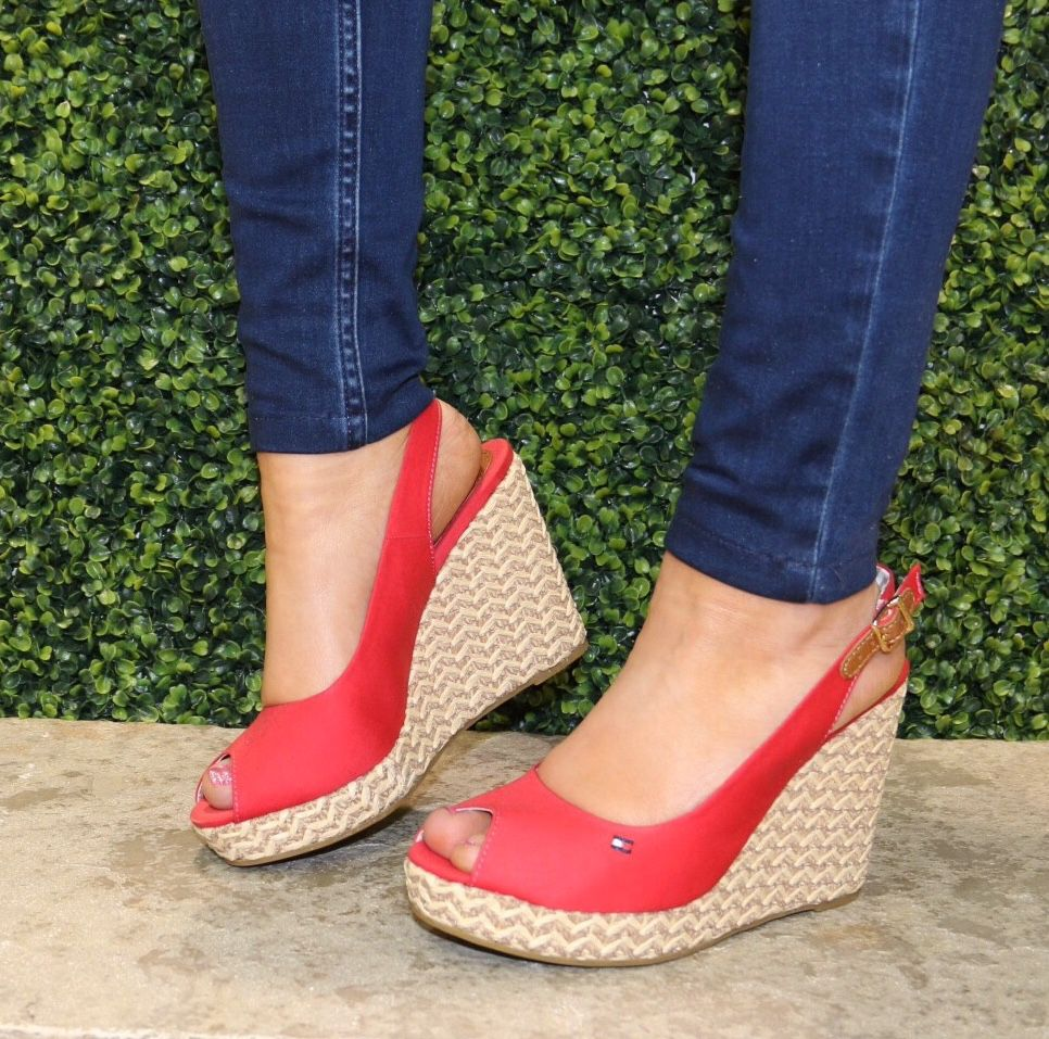 Tommy Hilfiger wedges @ Panache Shoe Company, The Linen