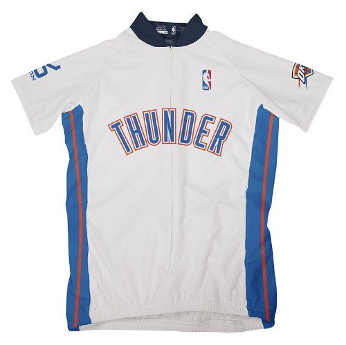 NBA Oklahoma City Thunder Womens Short Sleeve Cycling Home Jersey Large  White   You can find more details by visiting the image link. 2ed88a1218