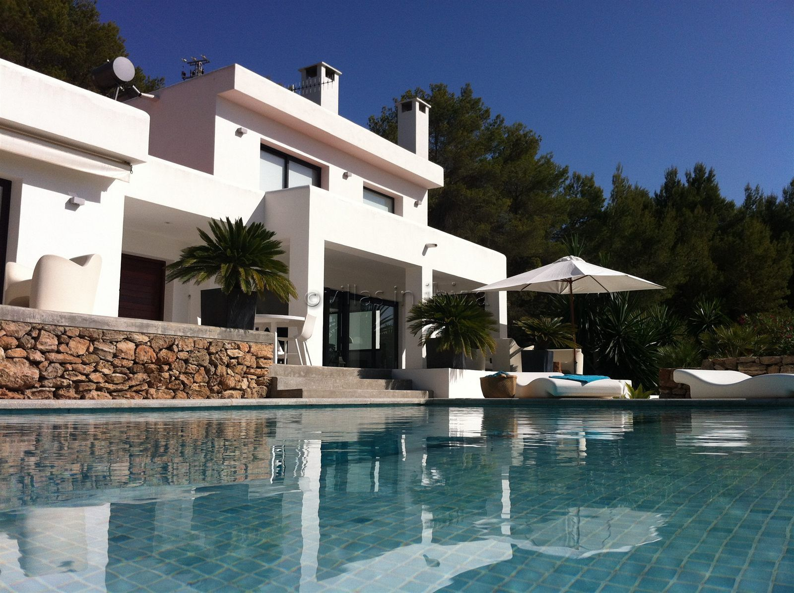 Photo Gallery for Minimalist Ibiza villa on the West coast with sunsets and sea views. San Jose. - Villas In Ibiza