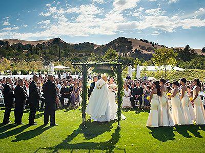 Wedding Wente Vineyards