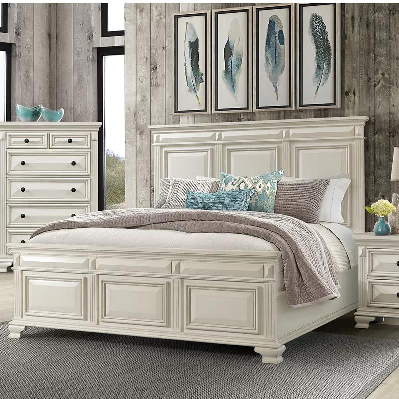 Darby Home Co Cheadle Standard Bed Reviews Wayfair Master Bedroom Furniture White Bedroom Set Cream Bedroom Furniture