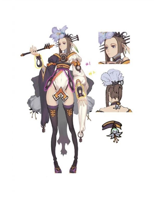 Blade And Soul Concept Art Collection Blade And Soul Fansite