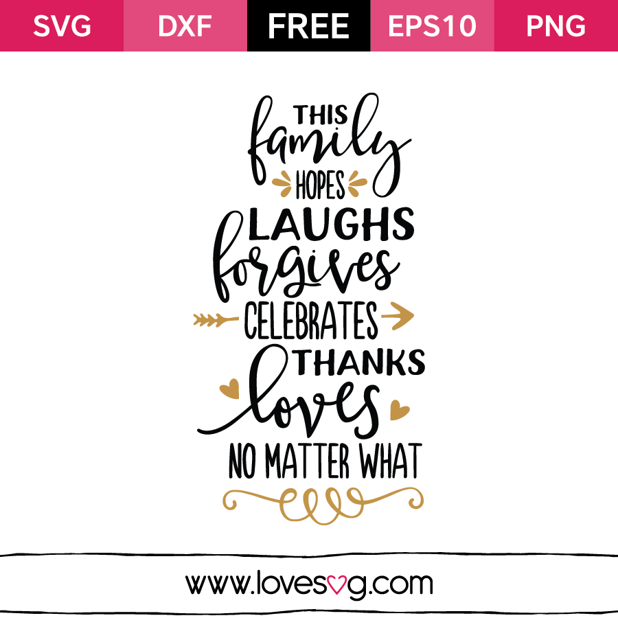 Download Family Quote Svg Cutting Files | Love Quotes Svg Cutting Files SVG