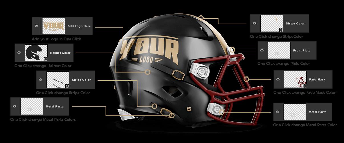 touchdown football uniform template sports mockups psd pinterest