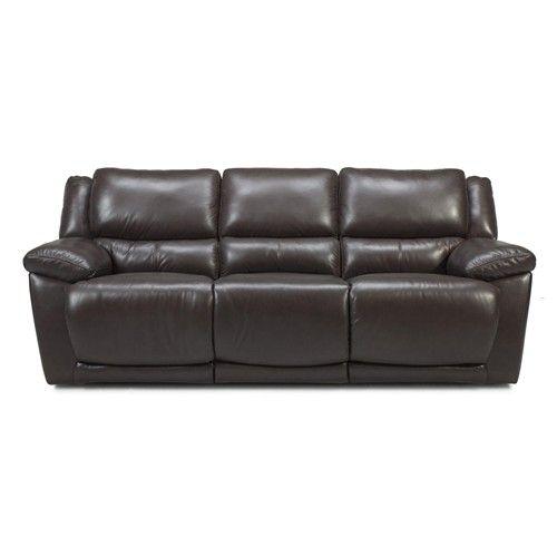 M149 Dual Reclining Sofa by Futura Leather - Baer\'s Furniture ...