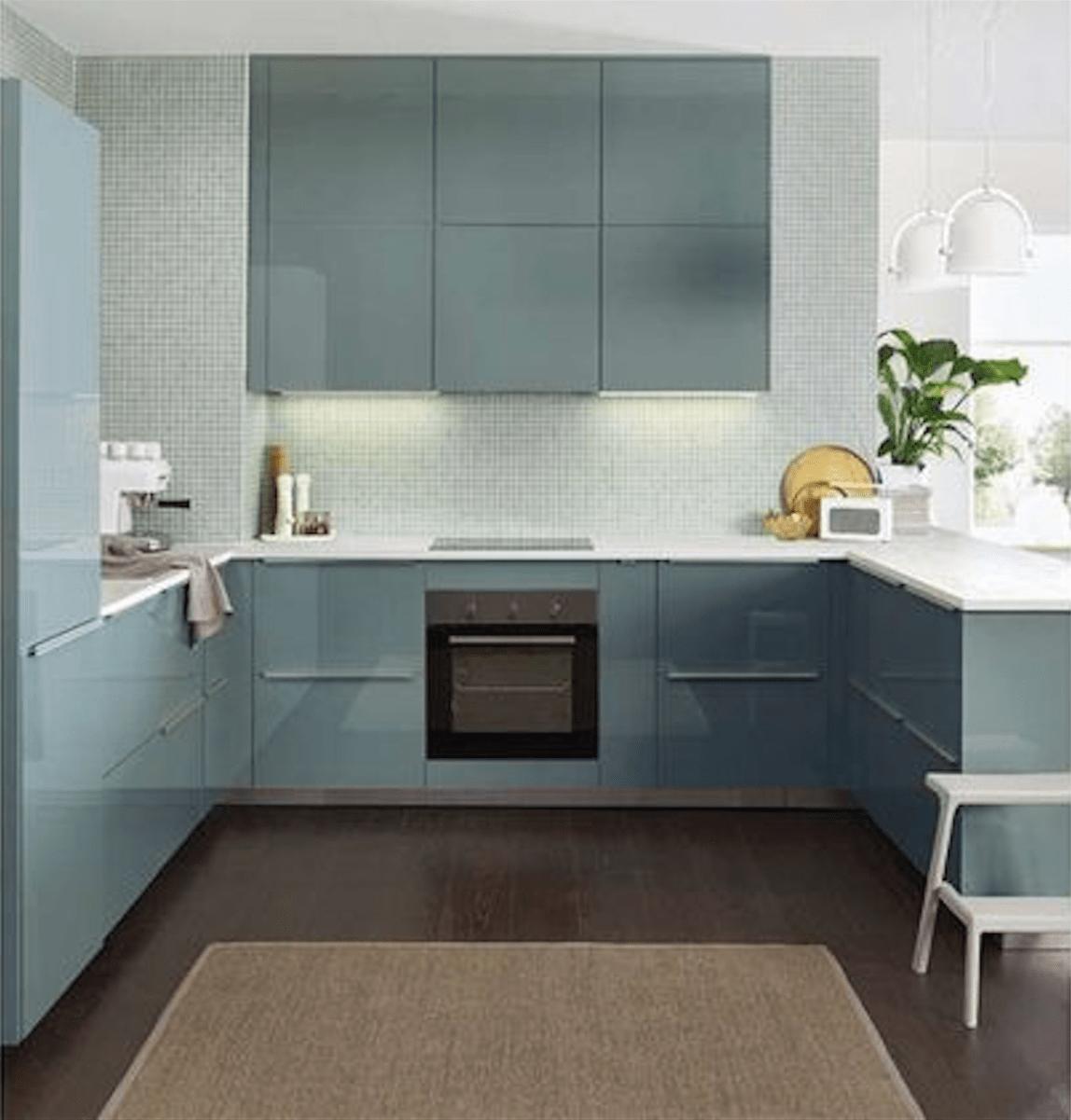 kitchen inspiration and ideas ikea kallarp kitchen turquoise kitchen pinterest ikea. Black Bedroom Furniture Sets. Home Design Ideas