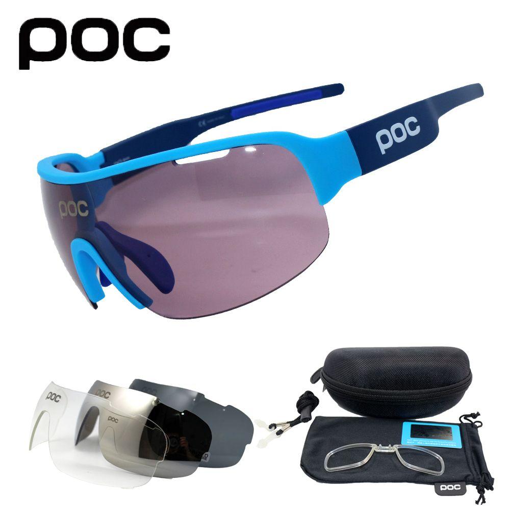POC Do Half Blade 4 lens Polarized Outdoor Cycling Glasses