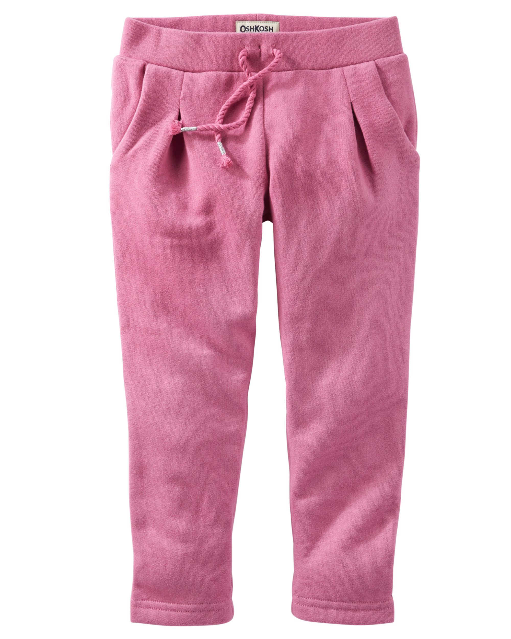 Baby Girl French Terry Pants from OshKosh B gosh Shop clothing