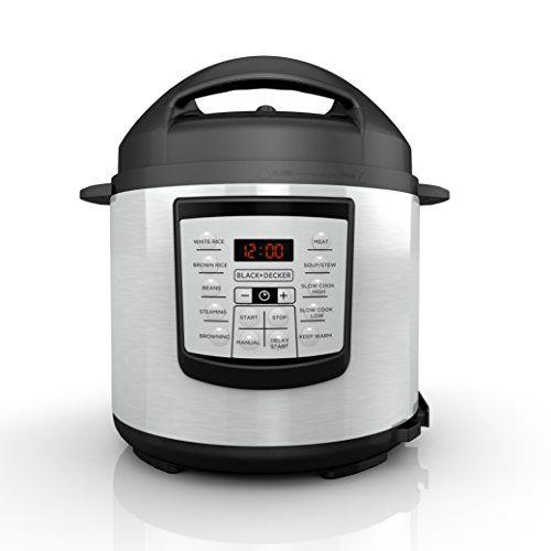 Blackdecker Pr100 6 Quart Programmable Pressure Cooker