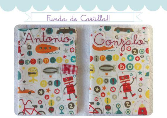 Funda Cartilla sanitaria / Cosetes de Marta - Artesanio