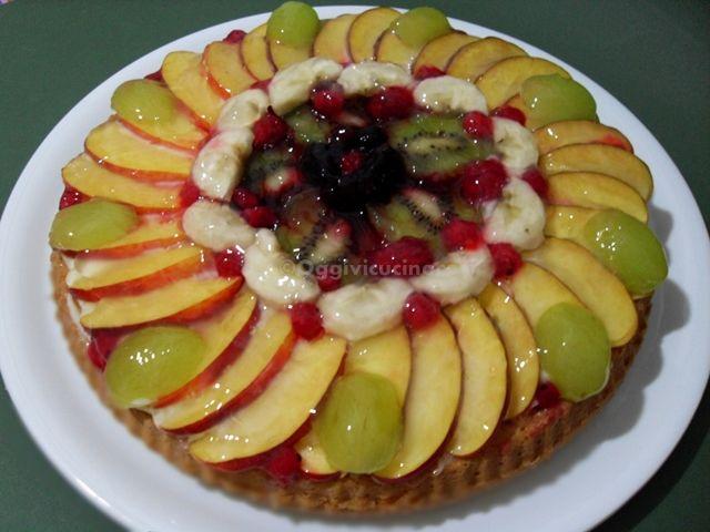 Oggi vi cucino così!: Torta di Frutta per Ferragosto