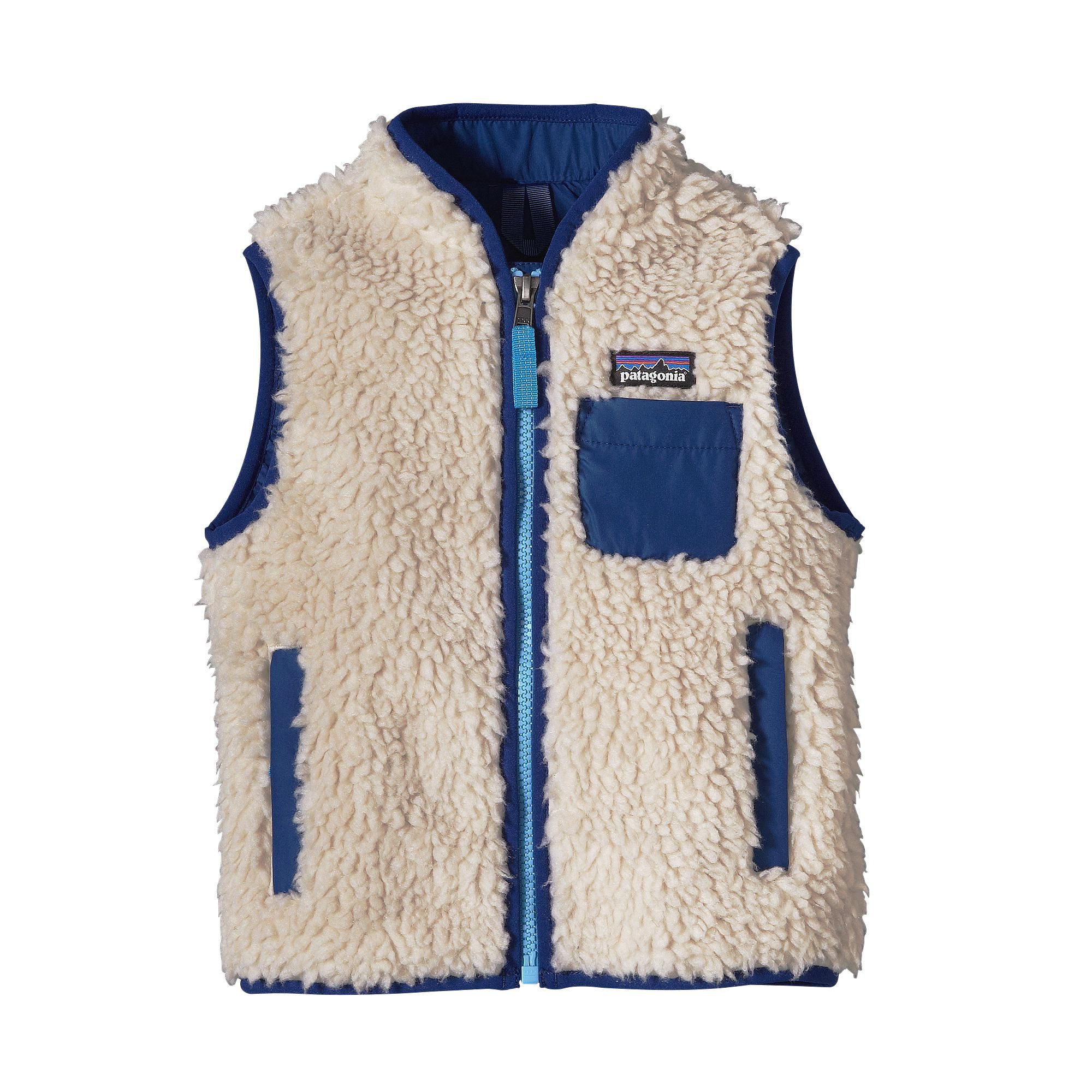 Baby Retro X 174 Fleece Vest Boyz Vintage Kids Clothes