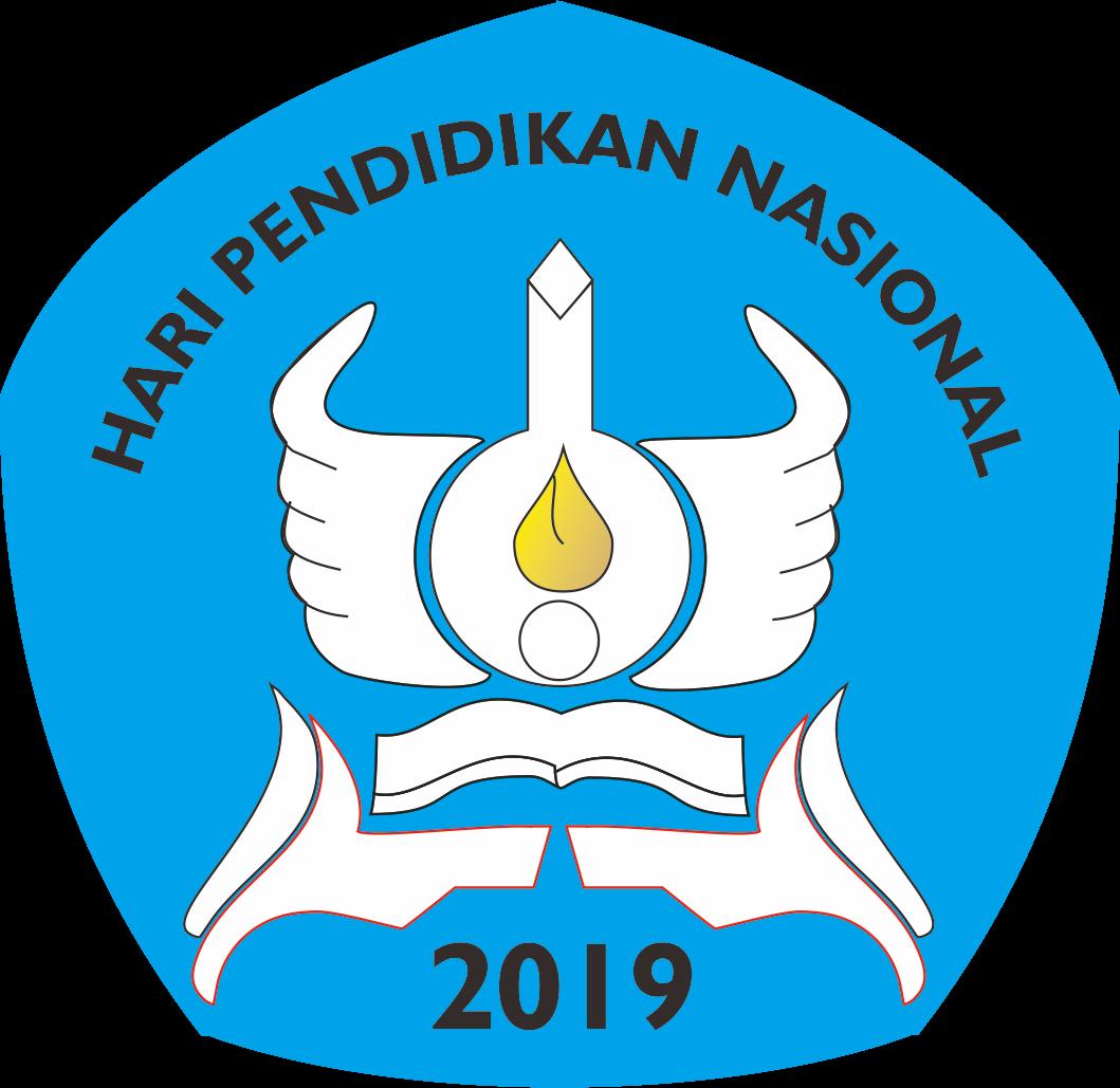 Hardiknas 2019 versi Hermawan Segi lima, Desain logo, Biru