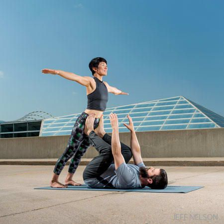 acroyoga 101 a classic sequence for beginners  basic