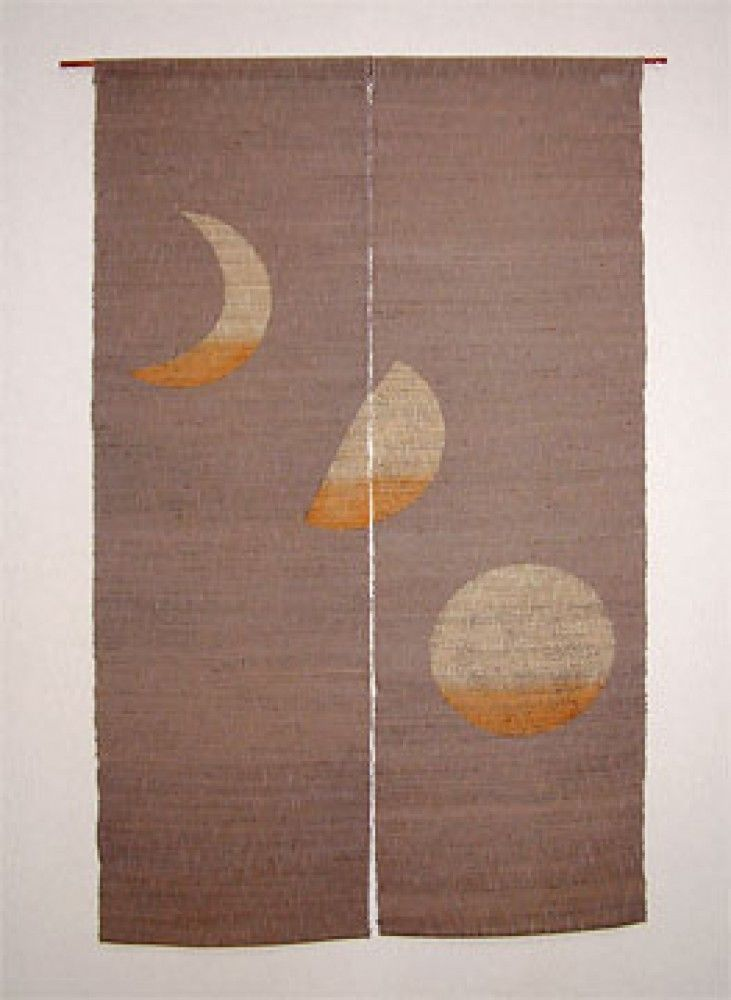 Kyoto Noren Sb Japanese Batik Door Curtain En Enso Circle Kuro