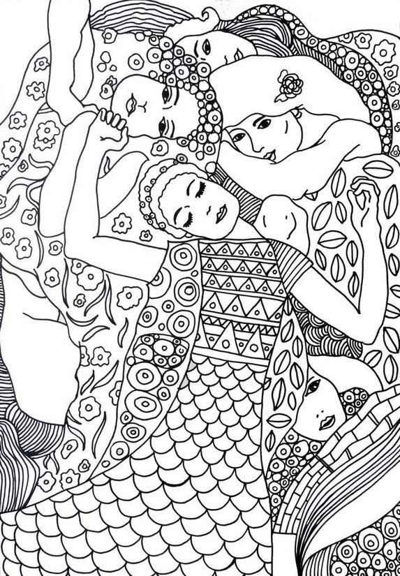 printable coloring pages of masterpieces - photo#37