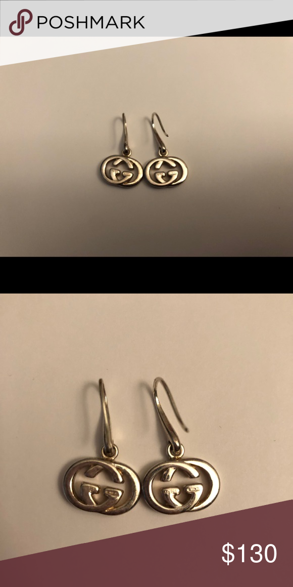 21a3234e35b Authentic iconic Gucci 925 silver earrings Purchased few years ago. Don t  know if