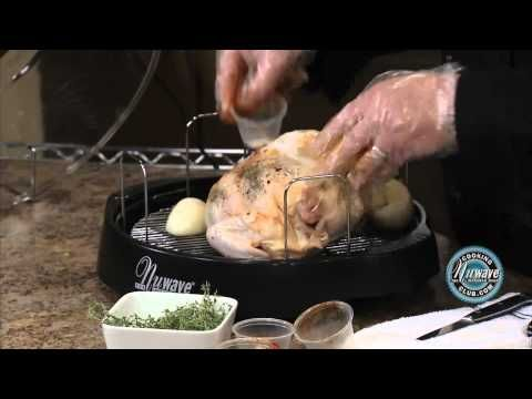 How To Cook Perfect Roasted Chicken In The Nuwave Oven Nuwave Oven Recipes Oven Cooking
