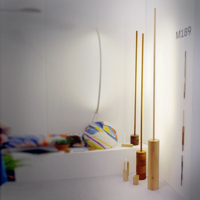 2014 Architectural Digest Home Design Show | Fort Makers — LED floor lamps