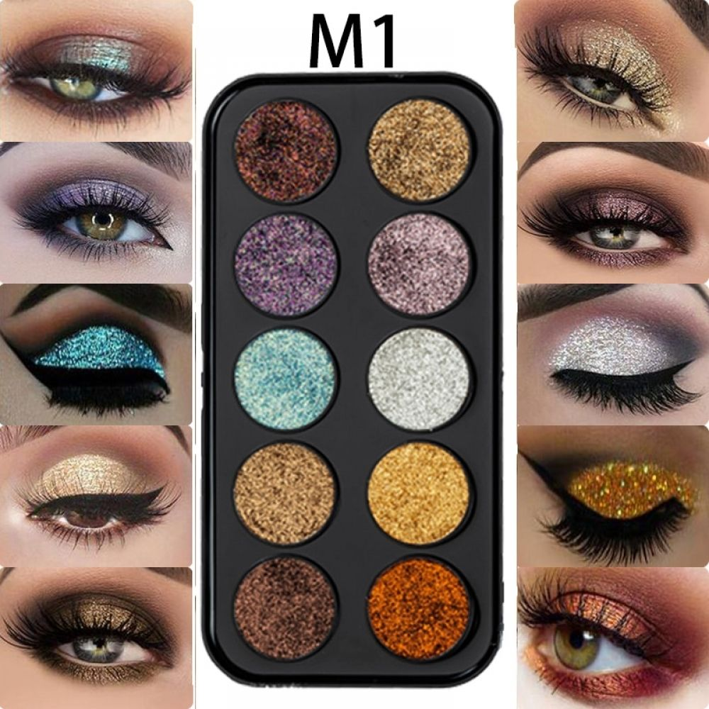 Beauty Essentials Humorous Beauty Glazed Eyeshadow Palette Long Lasting Shimmer Matte Eyeshadow Makeup Multi Colors Palette Cosmetics Kit Make Up For Eyes Skillful Manufacture