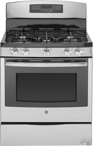 1 697 00 Ge Profile Pgb920 30 Freestanding Gas Range With 5 Sealed Burners 19 000 Btu Tri Ring Simmer Burners Convection Range Gas Range Dual Fuel Ranges