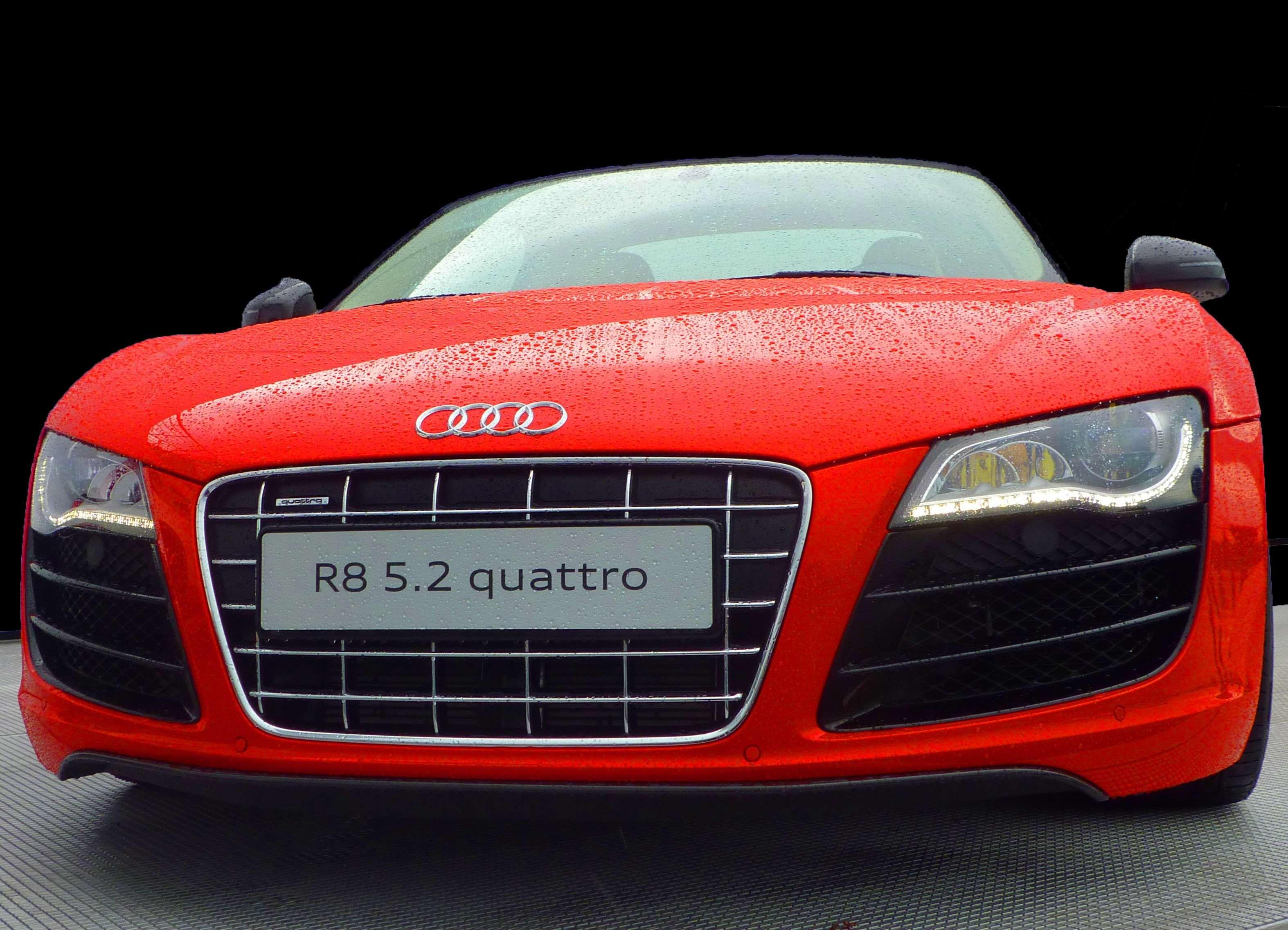 #audi #audi R8 Quattro #automobile #bumper #car #close Up #
