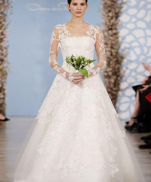 Oscar de le Renta Bridal Show 2013 & 2014 Brautkleider