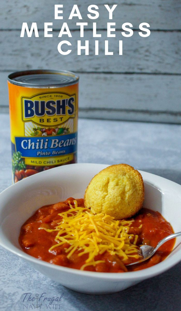 Easy Meatless Chili images