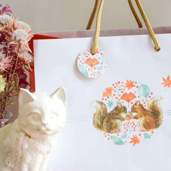 ブライダルバッグ専用タグ「パーティータグ」 - 祝いの紙道具 みこと|引き出物袋や水引小物などの結婚式 ...