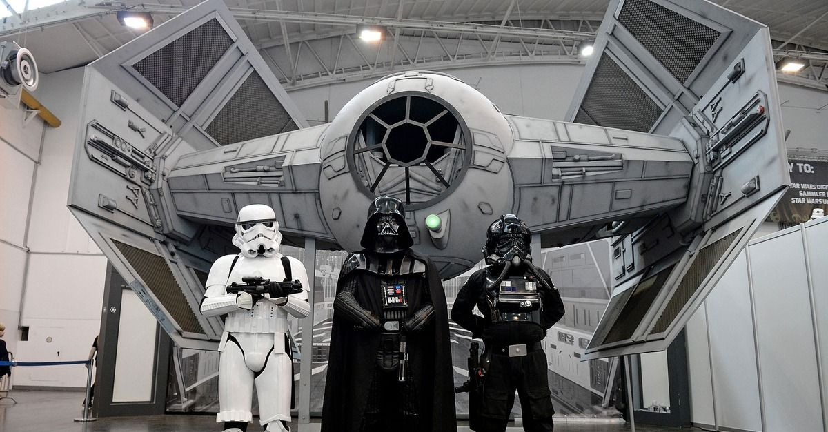 On Saturday night, the Toledo Walleye host the Kalamazoo Wings. But the hockey teams won't wear their normal jerseys. Instead, Walleye players will wear X-Wing pilot shirts, while the Wings will play in Darth Vader-themed jerseys. http://on.mash.to/1cwnqlG