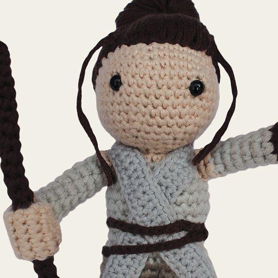 Rey - Star Wars. Amigurumi Pattern PDF, DIY, Crafts, Crochet Pattern ...