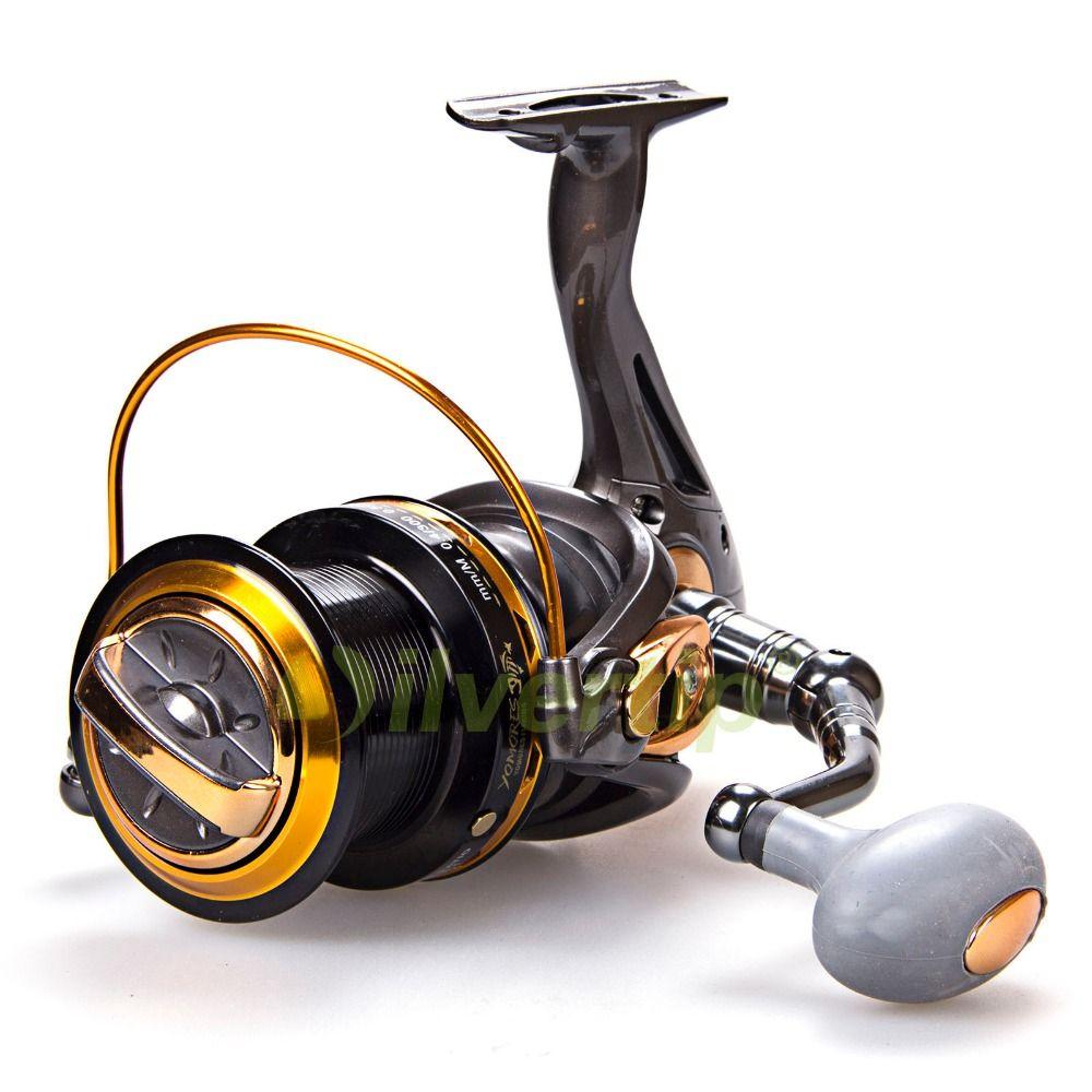 Free Shipping Big Game Spinning Fishing Reel 12+1 BB