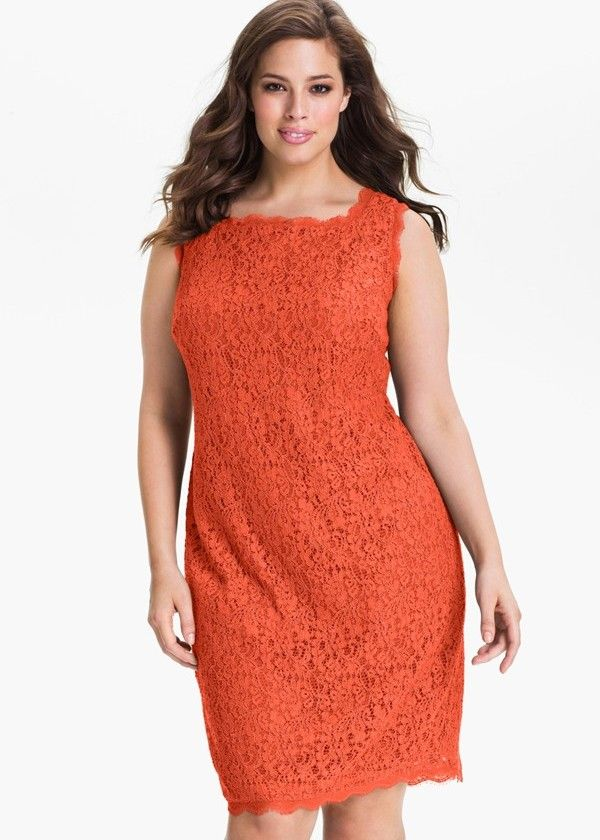 plus size lace dress | 10 Flattering Dresses for Plus Sized Women ...