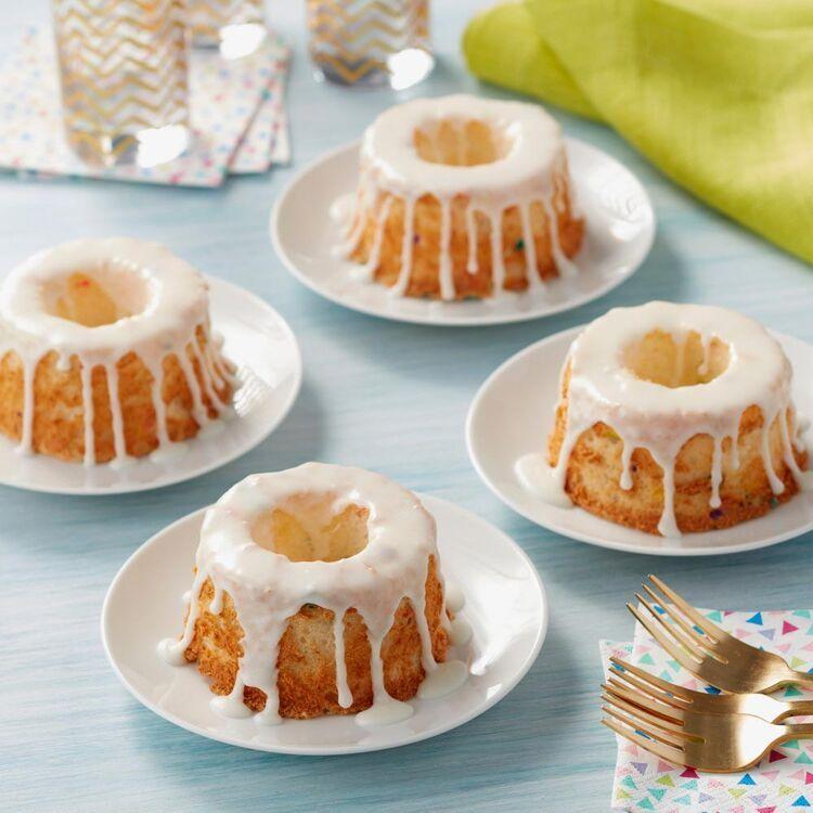Mini angel food cake pan 4cavity angel food cake pan