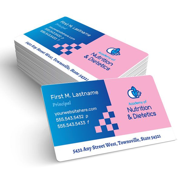 Business Card Template Design For A Nutritionist Dietician By - Business card templates designs