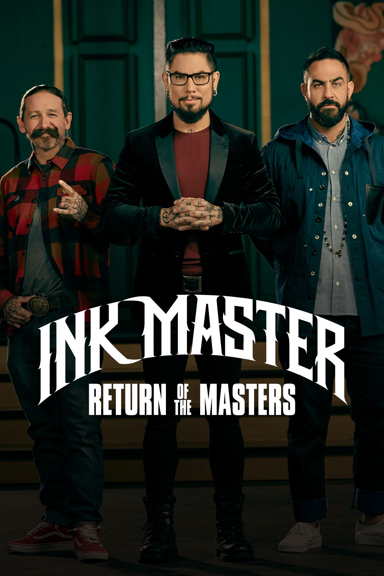 Three of the most skilled Ink Master winners return for a