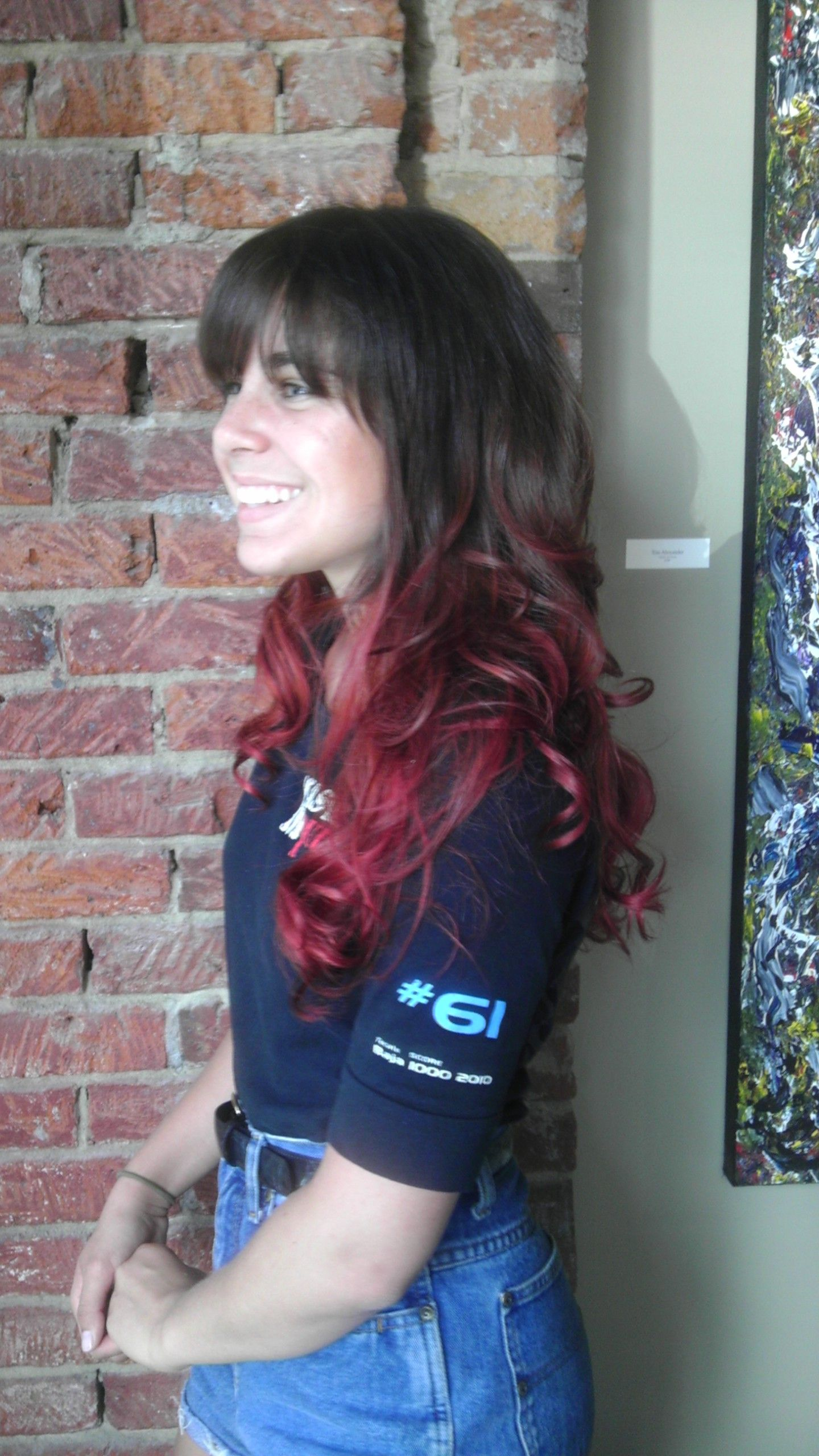 Tanya S Amazing Red Balyage Done By Amy Hair Styles Long Hair