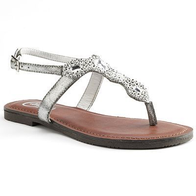 c87a63c60497 Love these for summer! Kohls.com Candies Thong Sandals - Women