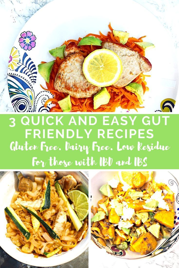 3 quick easy to digest recipes gf df low residue with