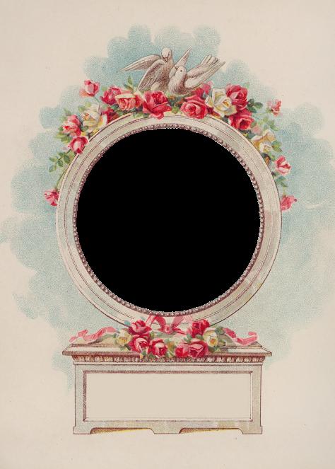 Valentine Vintage Frames Rose Frame Flower Frame