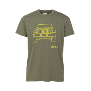 """JEEP Outfitter - MAN T-SHIRT """"Vehicle"""" J5S"""