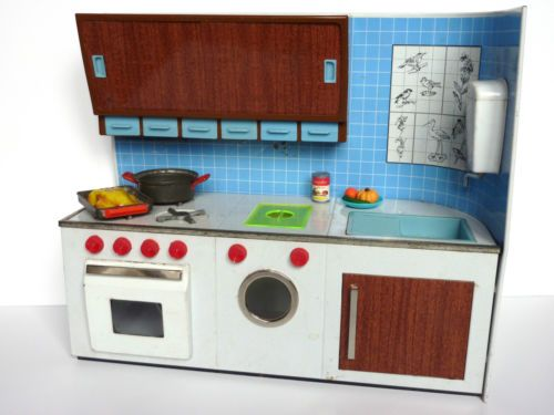 vintage cuisine atmega pour poupee barbie annees 60 ebay the dollhouse pinterest poup es. Black Bedroom Furniture Sets. Home Design Ideas