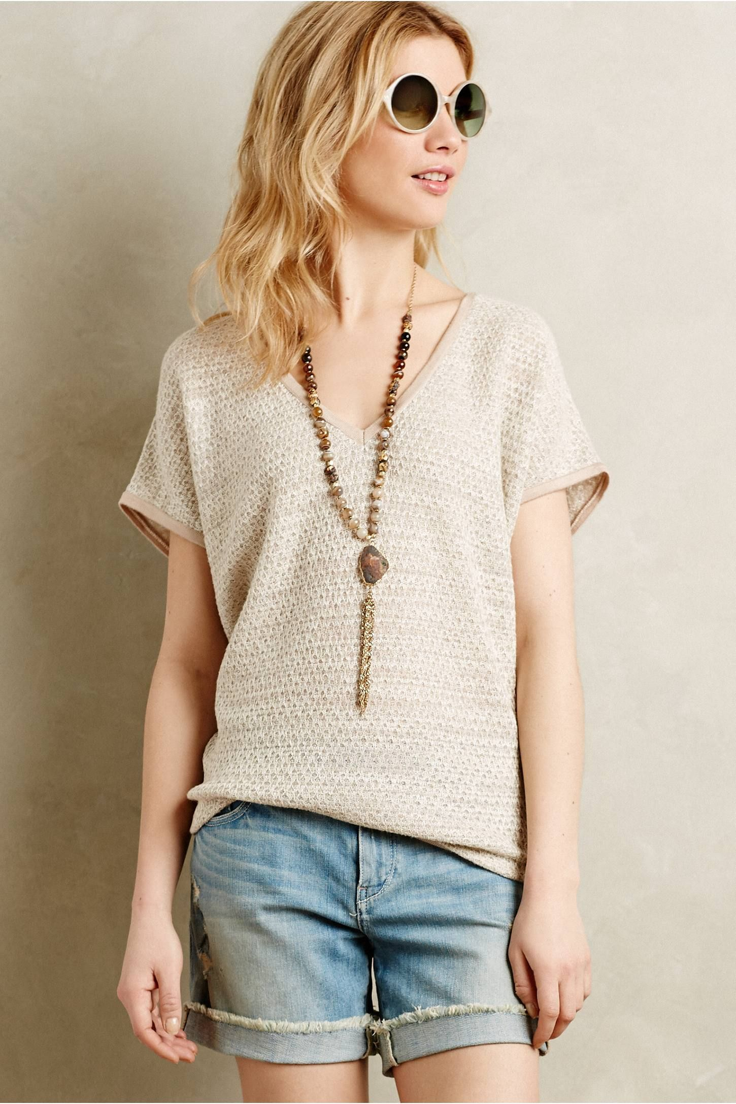 Moonstone Pullover - anthropologie.com